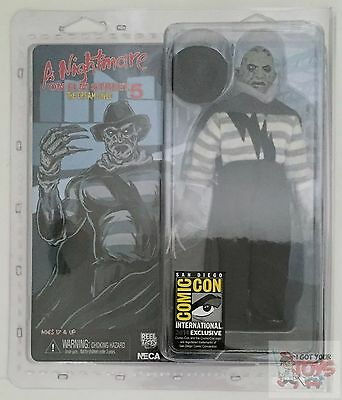 "SUPER FREDDY CLOTHED NECA Retro A Nightmare On Elm Street P5 8"" Inch SDCC 2014"