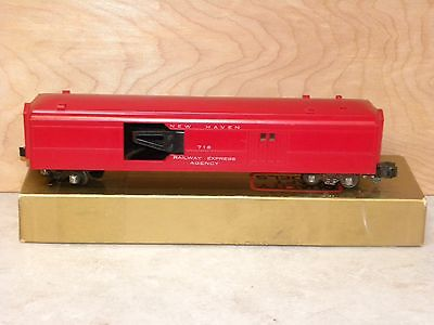 American Flyer Red  Operating Mail Car 718 #2