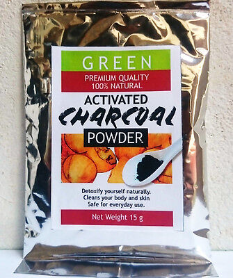 Whitening Tooth Powder Activated Coconut Charcoal PURE & FINE MADE**