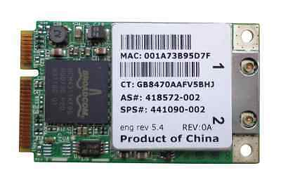 HP Broadcom BCM94311MCGHP3 WLAN Modul Mini 802.11b/g