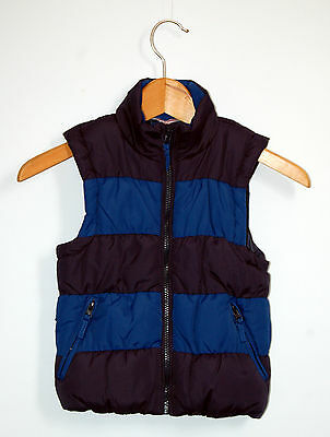 Miss E-Vie Blue Gilet 7 to 8 years