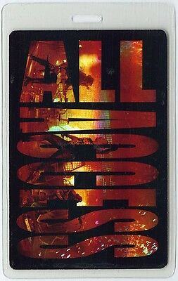 Motley Crue ALL ACCESS 2009 Laminated Backstage Pass