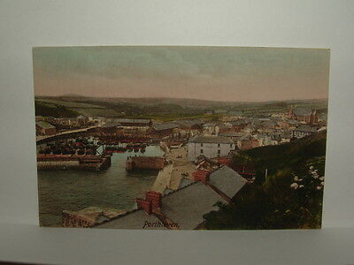 Cornwall - Porthleven - General View & Harbour - Postcard - Helston