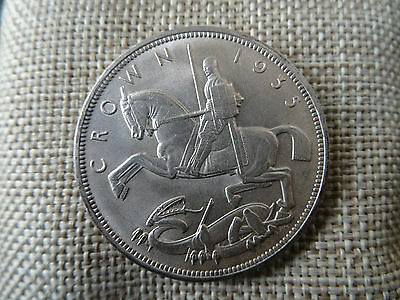 1935 George V .500 Silver ~ Rocking Horse Crown