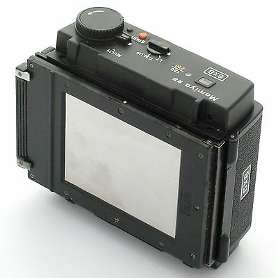 Mamiya RB67 ProSD 120/220 6x8 Power Drive Back, excellent condition
