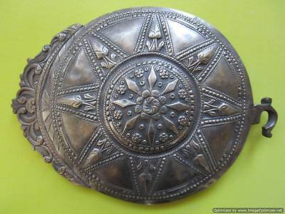 Extremely rare big Turkish Ottoman silver buckle late 18th, early 19th century! • CAD $125.99