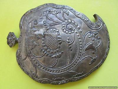 Extremely rare big Turkish Ottoman silver buckle late 18th, early 19th century! • CAD $113.24