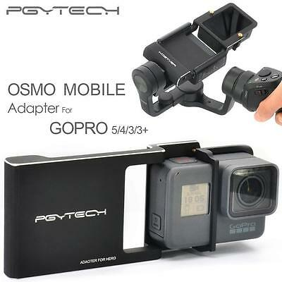 PGY Gopro Hero 5 4 3 3+ accessories Adapter for DJI osmo mobile gimbal Camera