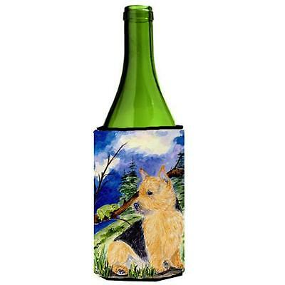 Carolines Treasures Norwich Terrier Wine bottle sleeve Hugger 24 oz.