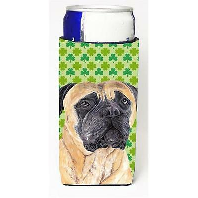 Mastiff St. Patricks Day Shamrock Portrait Michelob Ultra bottle sleeves For ...