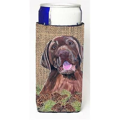 Carolines Treasures Labrador Michelob Ultra bottle sleeves For Slim Cans 12 oz.