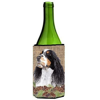 Carolines Treasures Springer Spaniel Wine bottle sleeve Hugger 24 oz.
