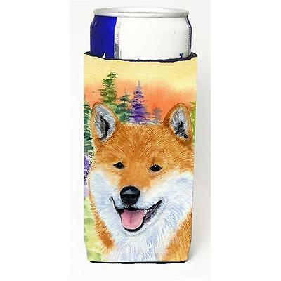 Carolines Treasures Shiba Inu Michelob Ultra bottle sleeves for slim cans 12 oz.