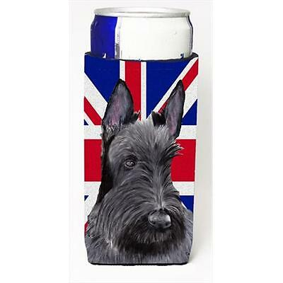 Scottish Terrier With English Union Jack British Flag Michelob Ultra bottle s...