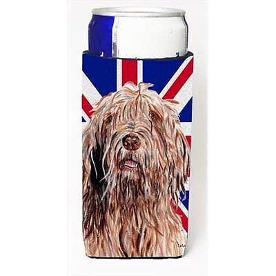 Otterhound With English Union Jack British Flag Michelob Ultra bottle sleeves...