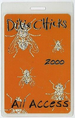 Dixie Chicks ALL ACCESS 2000 Laminated Backstage Pass