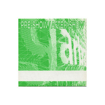 Garbage Green Aftershow 1998 Backstage Pass