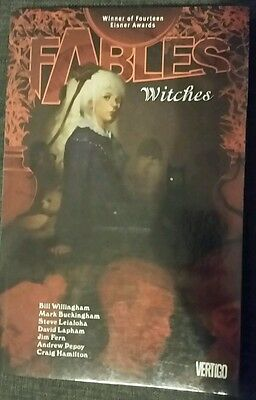 Fables graphic novel Witches