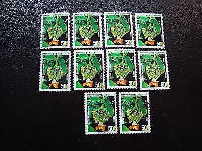 COTE D IVOIRE - timbre yvert/tellier n° 525 x10 obl (A28) stamp