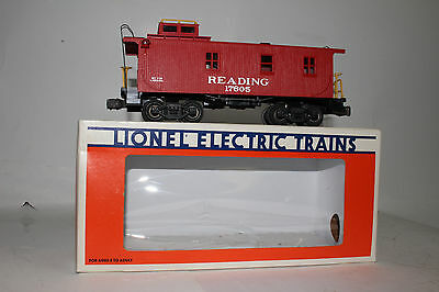Lionel O Scale #6-17605 Reading Standard O Caboose Car, Excellent, Boxed