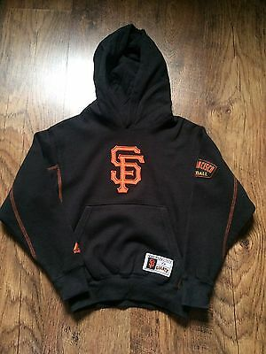 Majestic San Francisco Giants Baseball Hoody, Small Youth, Great Condition
