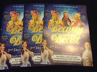 Pantomime Flyers 2016/17 X 3 - Tyne Theatre And Opera House Newcastle
