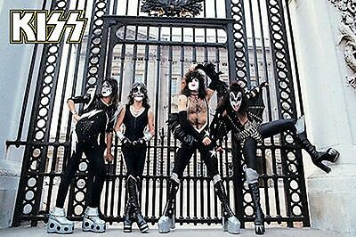 KISS POSTER NEW 2015 LONDON GATES limited production run