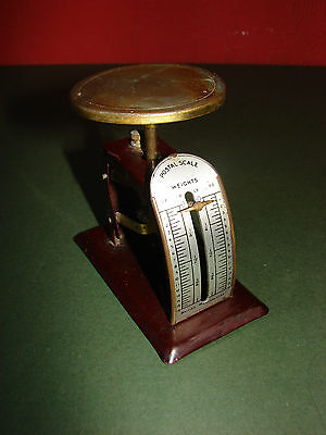 Vintage Small Postal Scale