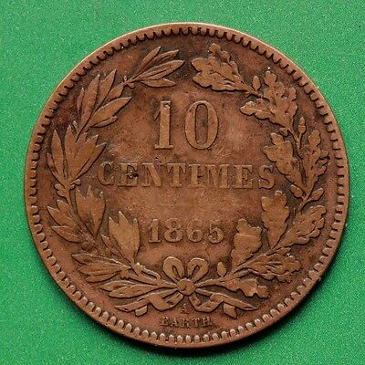 1865 - Luxembourg - 10 Centimes - SNo42927