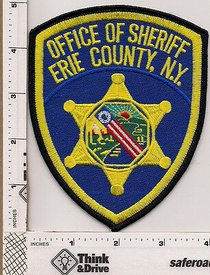 Erie County Sheriff. New York.