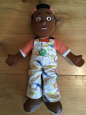 Ultra Rare Cbeebies Balamory Spencer The Painter Talking Toy Doll