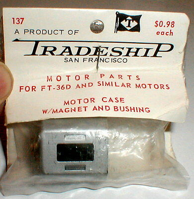Silver 36D Mabuchi Motor Can with factory installed magnets by TRADESHIP #137NOS