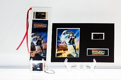 Back to the Future - 3 Piece Movie Film Cell Collection Gift Set, Bookmark