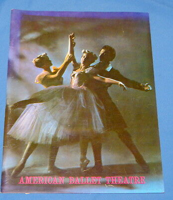 American Ballet Theatre 1940 - 1967 Lucia Chase Stars with Photos & Performances
