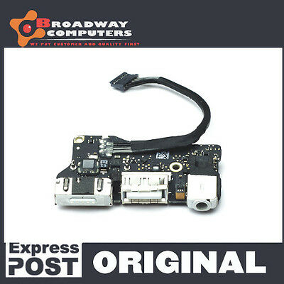 """DC Power Jack Board for Macbook Air 13"""" A1466, 2013 2014 2015"""