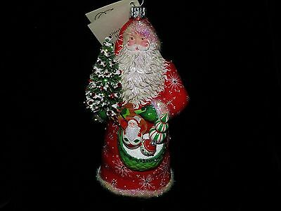 Patricia Breen Exclusive Jeweled Red Snowflake Jubilee Santa