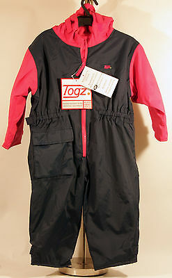 Togz Waterproof Breathable Unlined All in One Suit Blue and Pink 2 years NEW