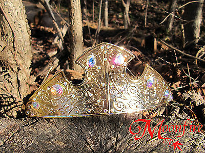 Disney Sleeping Beauty Aurora Princess Tiara Crown Cosplay Adult Teen One Size