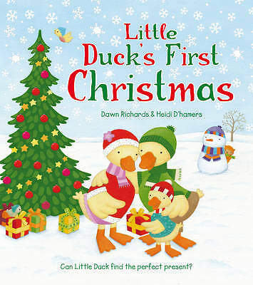 Little Duck's First Christmas - New Book by Dawn Richards Stocking Filler
