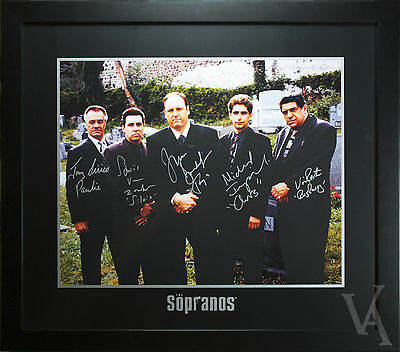 The Sopranos Signed And Framed Photo Poster Signature Series