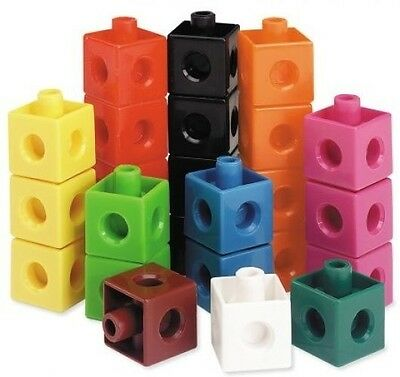Learning Resources Snap Cubes Building Toys Blocks Sets NEW Xmas Gift Toy
