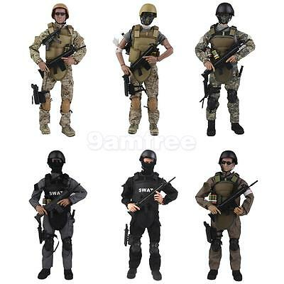 """1/6 Military Army Special Forces Soldier 12"""" Action Figures Model Toy Wargame"""