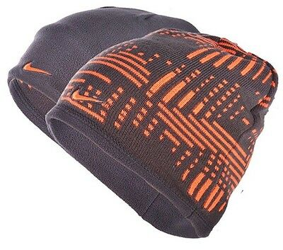 Nike Youth Unisex Reversible Knitted And Fleece Beanie