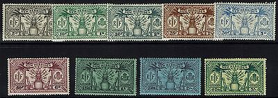 New Hebrides - SG# 43 - 51 - Mint Hinged (Hinge Rem) - Lot 041716