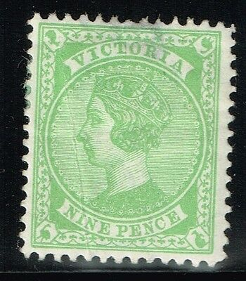 Victoria SG# 320, Mint Hinged, Small Page Remnant - Lot 121315