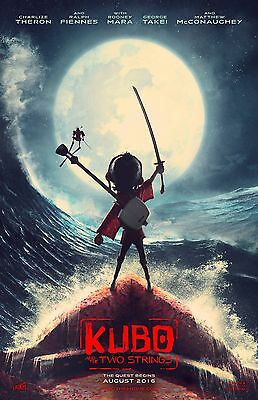 Kubo and the Two Strings movie poster (b)  : 11 x 17 inches