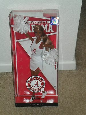 BARBIE COLLECTOR 2012 ALABAMA Crimson Tide Roll AA *NEW* doll NIB Cheerleader