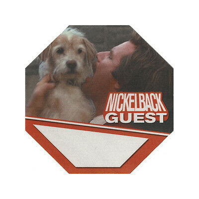 Nickelback Orange Guest 2000's Backstage Pass