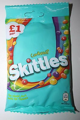 2 x UK Skittles CONFUSED? 125g each bag