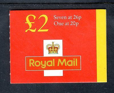 GB Stamps £2 Folded Booklet 1998 FW10 Mint